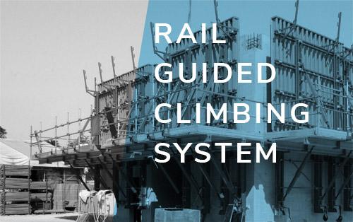 Rail Guided Climbing System